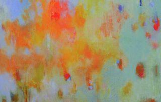 """A Cheerful Place"" - 30""x30"" - Acrylic on Canvas"