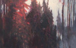 """""""Deep Forest"""" 30x40"""