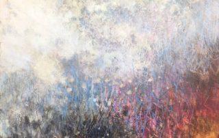 """""""Hillside"""" landscape art by mary barnett"""