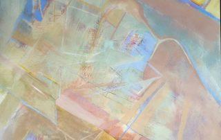 """36'x36'"""" Acrylic on Canvas"""