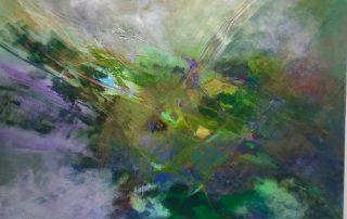 """""""Mile High"""" - 36""""x36"""" Acrylic on Canvas"""
