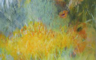 """""""Soft Meadow"""" 30x30 - Acrylic on Canvas"""