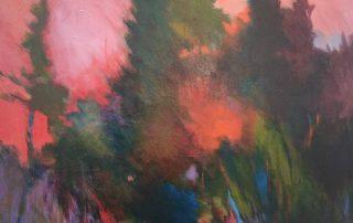 """""""Sunrise"""" 30""""x40"""" - acrylic on canvas"""