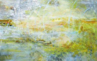 """Whipstitch"" 30x30 - Acrylic on Canvas"