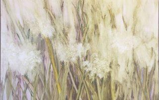 """Wind Away"" 30""x30"" Watercolor on Yupo"