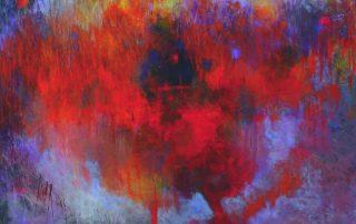 Wondering - 36x36 - Acrylic on Canvas